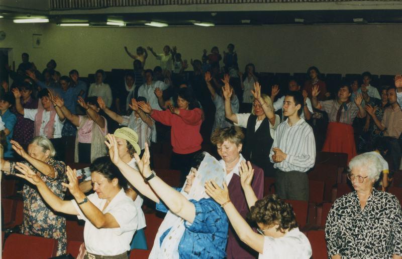 Первое служение церкви Благая весть